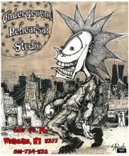 1989  Underground Studio jpg poster 13 x 19 jpg