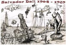 2012 Dali's World v2 400-50 JPG poster BW