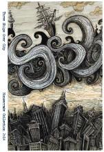 2014 Three Ships Over city v2 dark shaded  jpg 400 Poster