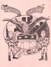 1986 Stand Proud Sticker