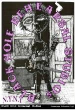 1996 Black Hole Rehearsel Studios poster 13 x 19 jpg